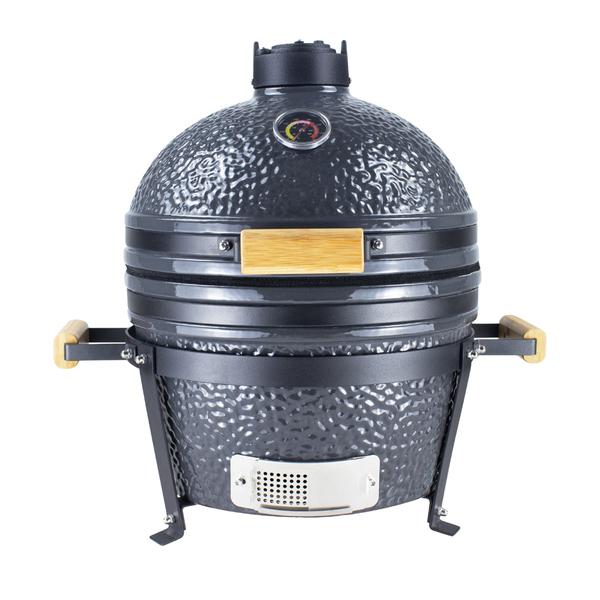Porto PODD Kamado barbecue gray BBQ
